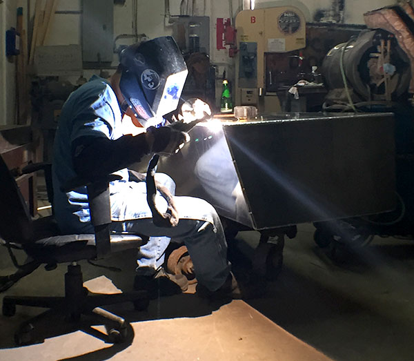 OSHA certified welder at Dolfab
